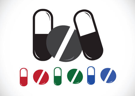 pictogramme: Medicine icon Illustration