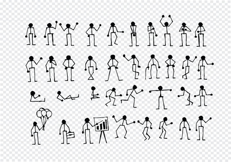 People actions Sign Symbol Pictogram