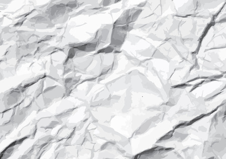 paper texture: crumpled paper  Texture  illustration Illustration