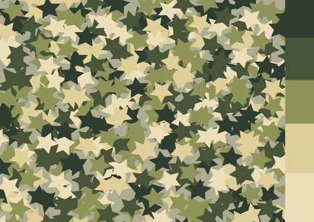 Camouflage pattern design Ilustração