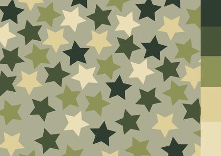 fatigues: Camouflage pattern design Illustration