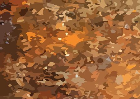 Camouflage pattern design   illustration Illustration