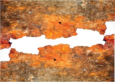 rusty background: Grunge rusty background   illustration