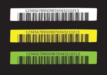 medical distribution: Bar code   illustration Illustration