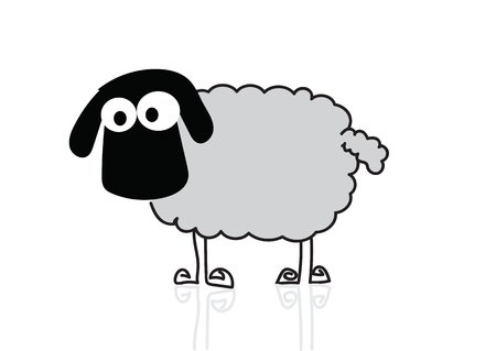 sheep cartoon: sheep cartoon
