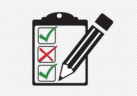 checklist icon Ilustração