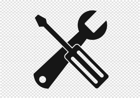 Gereedschap pictogram Stock Illustratie
