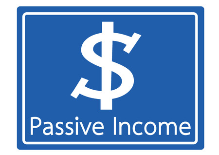 passive income: passive income recurring incomes concept idea
