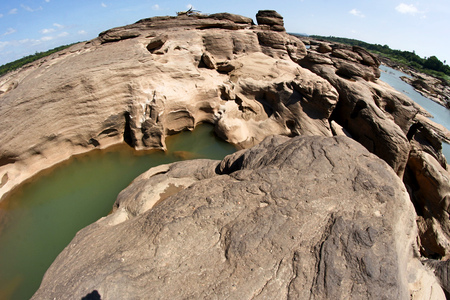 phosai: Thailand Grand Canyon , Sampanbok , phosai , Ubonratchathani ,  Thailand Stock Photo