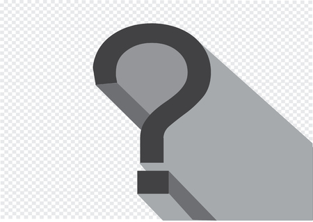 questionably: Question mark icon ,  FAQ sign and Help symbol
