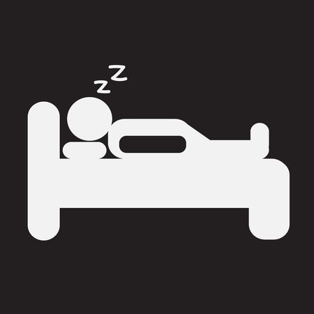 hotel icon: Sleep Icon , bed icon, hotel icon