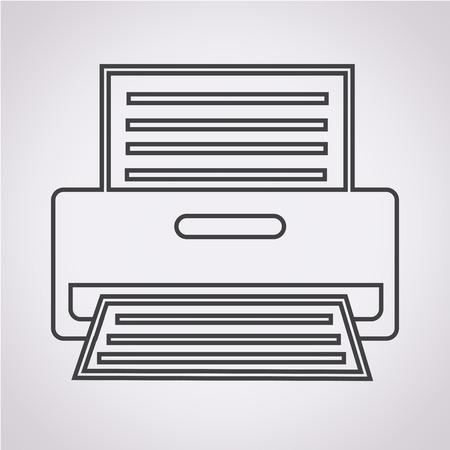 printer icon: Printer Icon