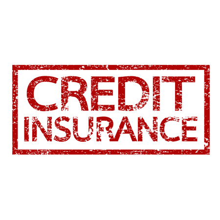Credit Insurance text , Insurance word