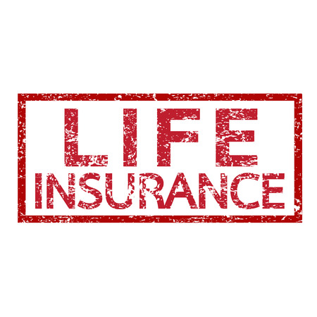 variable rate: Life Insurance Word illustration