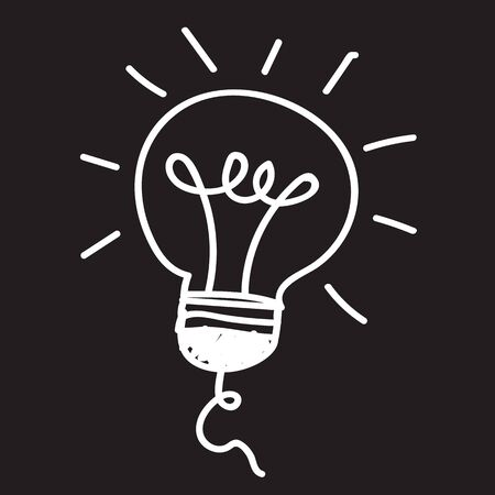 led lamp: Light bulb and LED lamp illustration