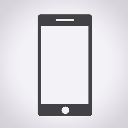 mobile phone screen: Smart Phone illustration