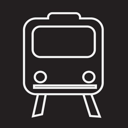 train icon: Train Icon ,  train,  transportation icon Illustration
