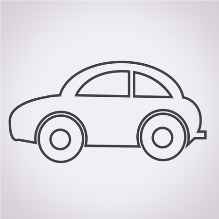 Car Icon illustration Vector