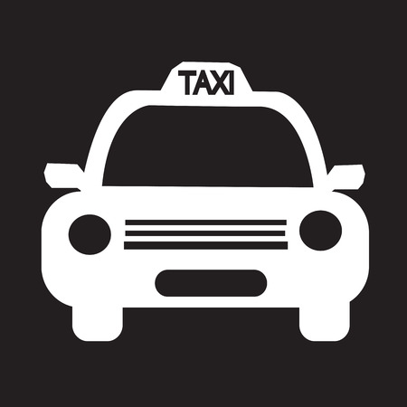 Taxi Car Icon illustration Illustration