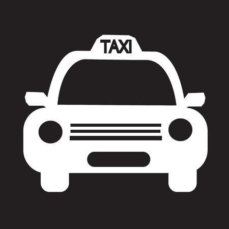 Taxi Car Icon illustration Ilustrace