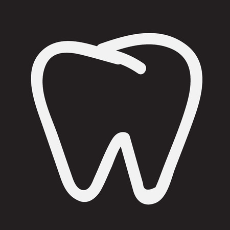 tooth icon: Tooth Icon Illustration