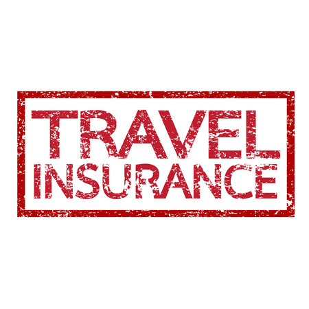 accident rate: Viajes palabra seguros ilustraci�n Vectores