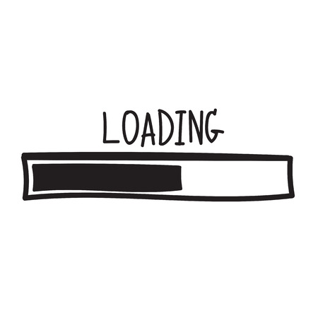 loading. Progress bar design. Vector illustration