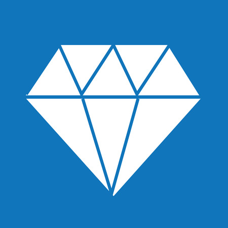 diamantina: Icono de diamante, diamante, icono de diamante, vector de diamante Vectores