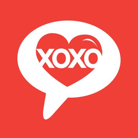 xoxo: Heart Love Xoxo , Valentines day illustrations and typography elements , day, xoxo