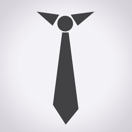 Necktie icon illustration  Vector