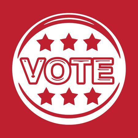 vote button: vote icon ,  vote,  vote button Illustration