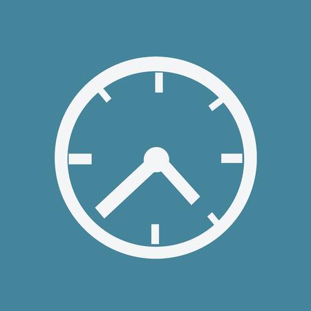 orologio da parete: Icon Clock, orologio, icona tempo, orologio faccia, orologio vettore, orologio