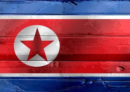 korea flag: North Korea flag themes idea design