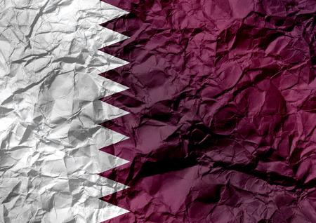 unitary: Flag of Qatar themes idea design Stock Photo