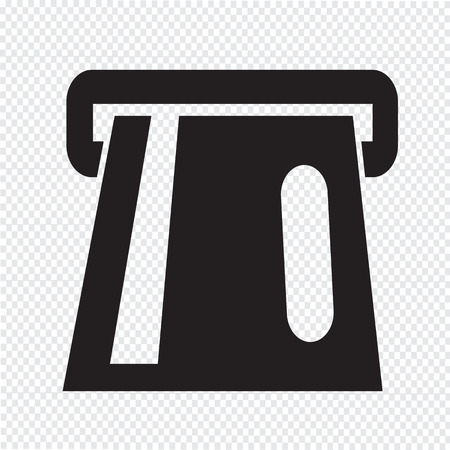 atm card: Atm Icon atm card slot icon