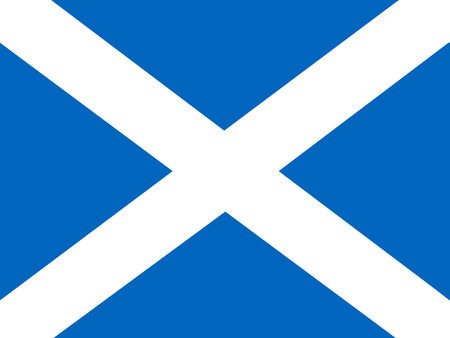 scottish flag: Bandiera della Scozia Vettoriali