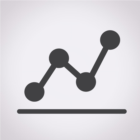 pie chart graph: diagram icon , graphs icon Illustration