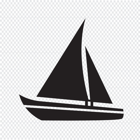 Sailing boat icon Stock fotó - 37761060