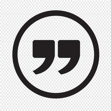 引用記号アイコン、クォーテーション マーク