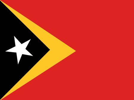 east: Flag of East Timor