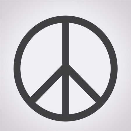 pacifist: Peace sign icon