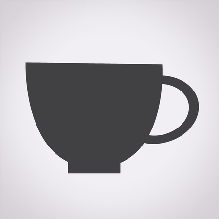 coffee mugs: Cup Icon Illustration