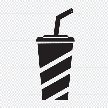 softdrink: Soft drink icon Illustration