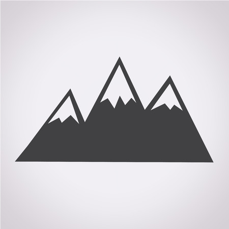 high up: Mountains Icon
