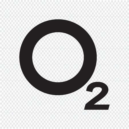 Oxygen O2 Icon