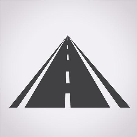 carretera: iconos de carretera