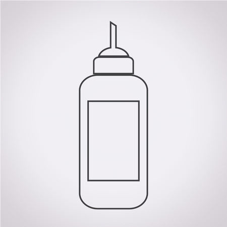conditioned: ketchup bottle icon