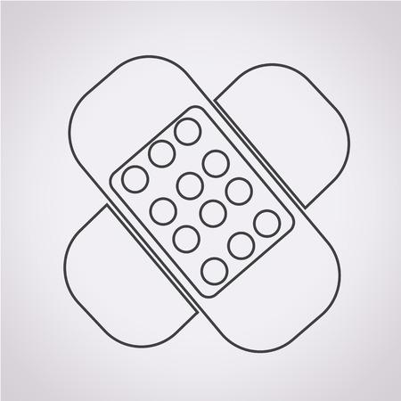 plaster: plaster icon