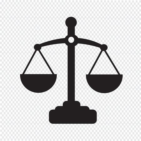 justicia: Escalas de la justicia icono