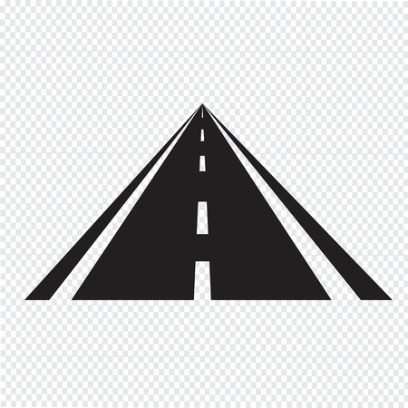 car road: road icon